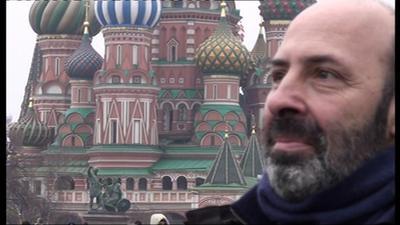 """""""旅するフランス映画"""" Canal+で放送! - Cédric Klapisch à Moscou pour la sortie de """"Paris"""""""
