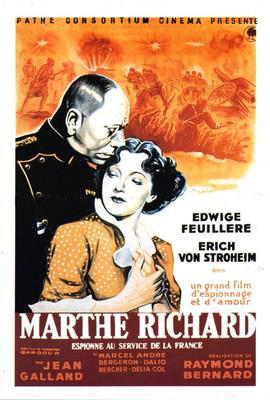 Marthe Richard au service de la France