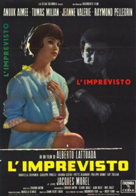 L'Imprévu - Poster - Italy