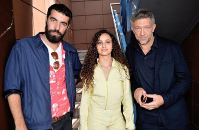 Portfolio Festival de Cannes 2018 - Romain Gavras, Oulaya Amamra et Vincent Cassel pour 'Le Monde est à toi' - © Veeren/BestImage/UniFrance