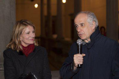2nd France-Odeon Film Festival in Florence - Toni Servillo et Nicole Garcia.