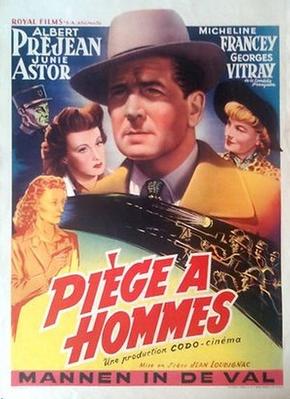 Piège à hommes - Poster Belgique