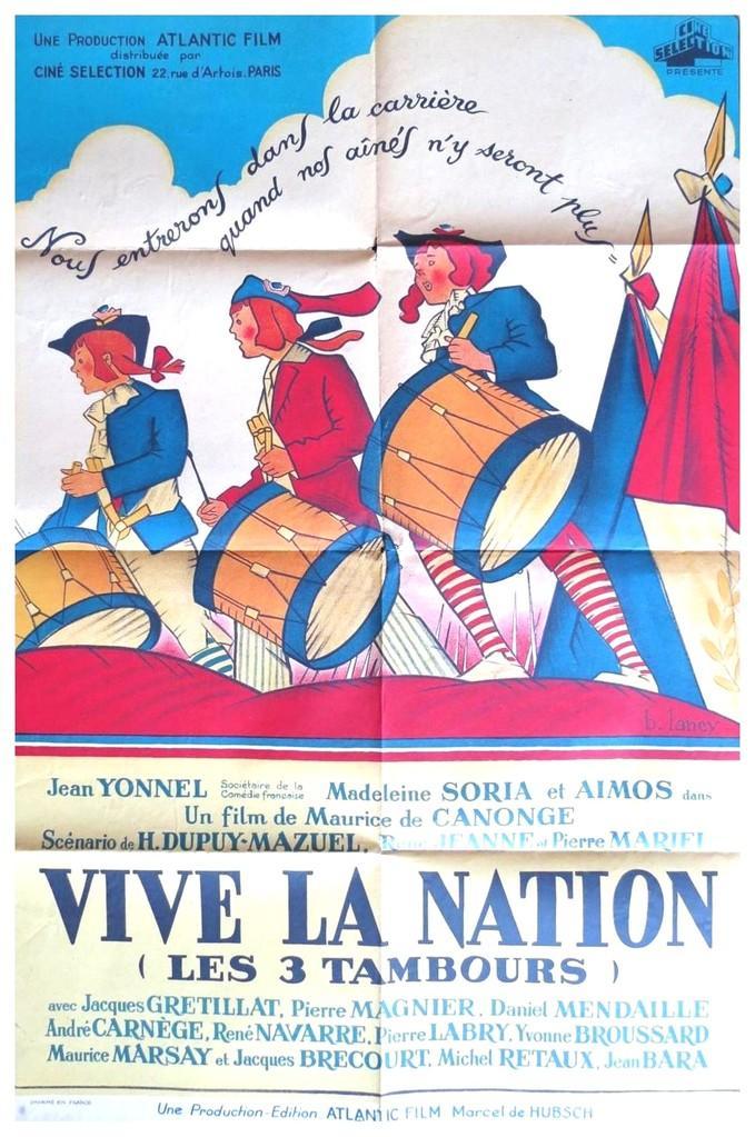 Vive la Nation (ou Les 3 Tambours)