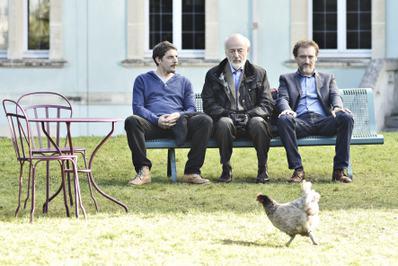 Papa, Alexandre, Maxime et Eduardo - © Vivian Duval