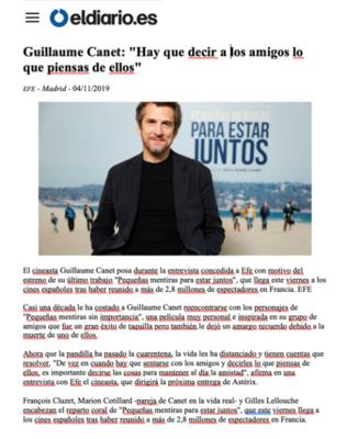 Revista de prensa – Diciembre del 2019