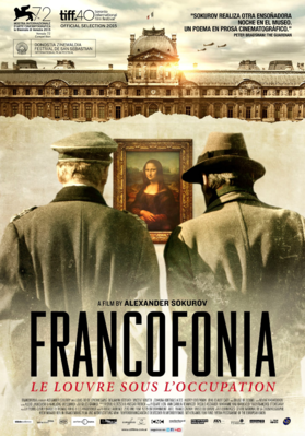Francofonia - Poster Argentine