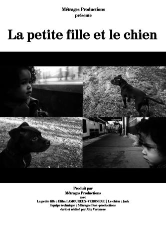 Le Petite Fille et le chien