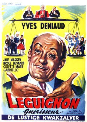 Leguignon guérisseur - Poster - Belgique