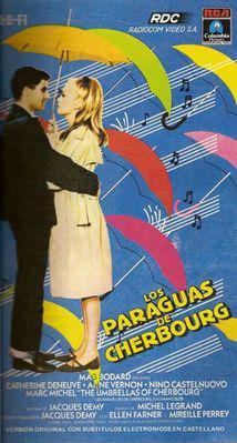 Los Paraguas de Cherburgo - Affiche Argentine