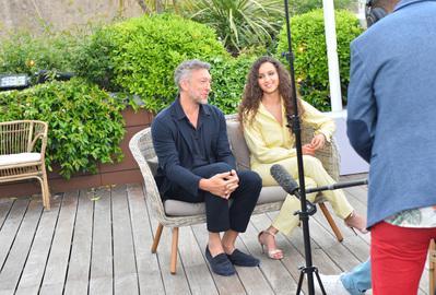 Portfolio Festival de Cannes 2018 - Oulaya Amamra et Vincent Cassel pour 'Le Monde est à toi' - © Veeren/BestImage/UniFrance