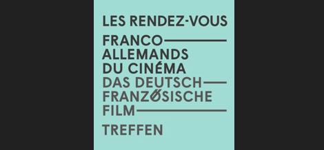 16th Franco-German Film Meetings: Erfurt, November 26-28, 2018