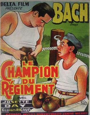 Le Champion du régiment - Poster - Belgium