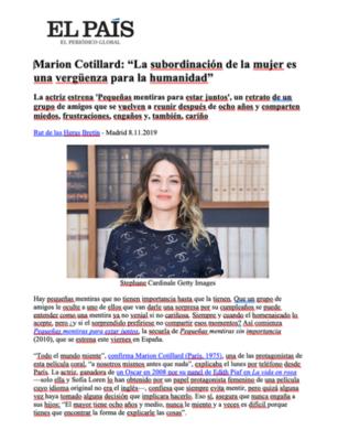 Revue de presse - Décembre 2019