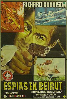 Secret Agent Fireball - Poster Espagne