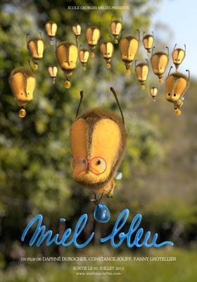 Miel bleu