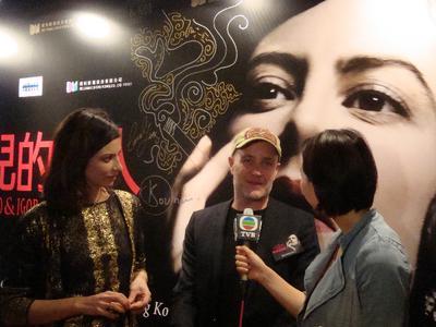 Los festivales de Extremo Oriente abren sus puertas al cine francés - jan Kounen et Anna Mouglalis à Hong Kong - © Unifrance.org
