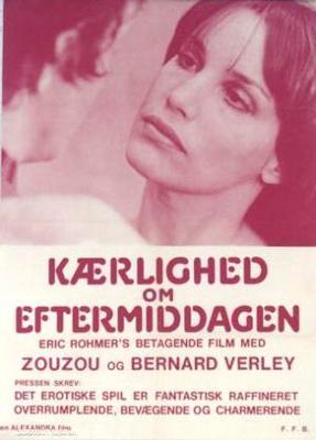 L'Amour l'après-midi - Poster Danemark
