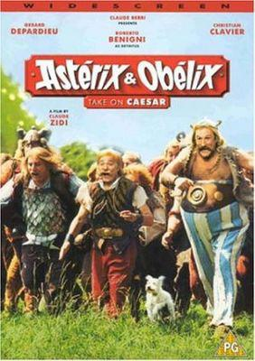 Asterix and Obelix versus Cesar - Poster Royaume Uni