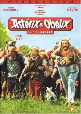 Astérix et Obélix contre César - Poster Royaume Uni