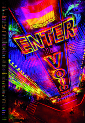Soudain le vide / Enter the Void - Affiche Finlande