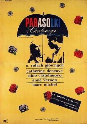 Los Paraguas de Cherburgo - Affiche Pologne