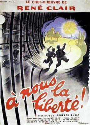 自由を我等に - Poster France