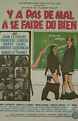 C'est jeune et ça sait tout (ou Y a pas de mal à se faire du bien) - Poster Canada