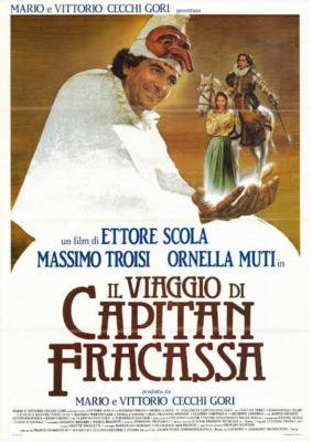 El Viaje del capitán Fracassa - Poster Italie