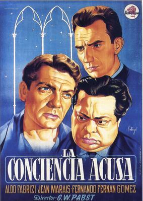 La Conciencia acusa - Poster Espagne