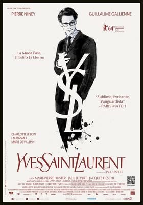 Yves Saint Laurent - Poster - Colombia