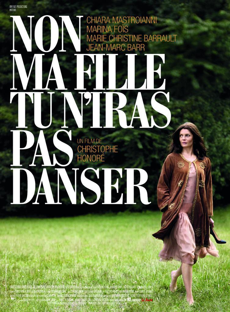 Geneviève Brisac - Poster - France - © Le Pacte