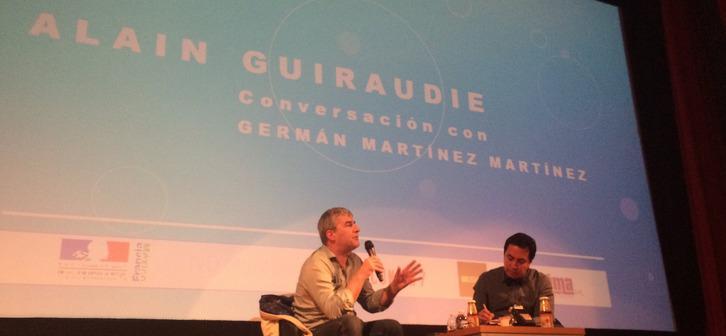 Masterclass d'Alain Guiraudie au FICUNAM de Mexico