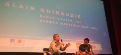 Clase magistral de Alain Guiraudie en el FICUNAM de México
