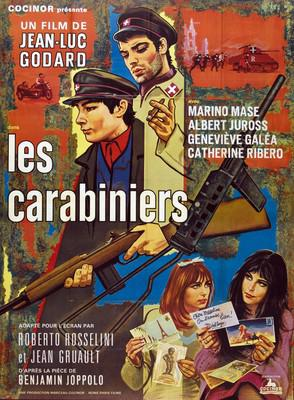 Les Carabiniers - Poster France