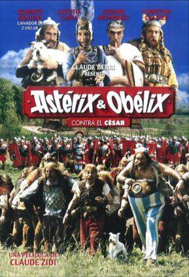 Asterix and Obelix versus Cesar - Poster Mexique