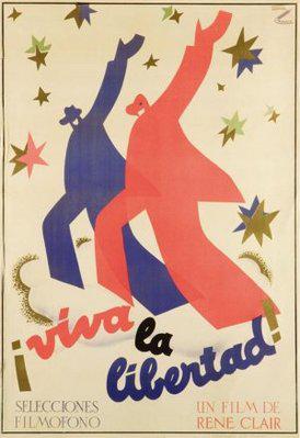 À nous la liberté - Poster Espagne