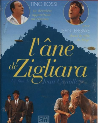 Une drôle de bourrique (ou L'Ane de Zigliara) - Jaquette VHS France