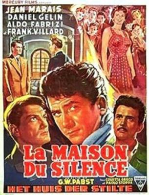 La Maison du silence - Poster Belgique