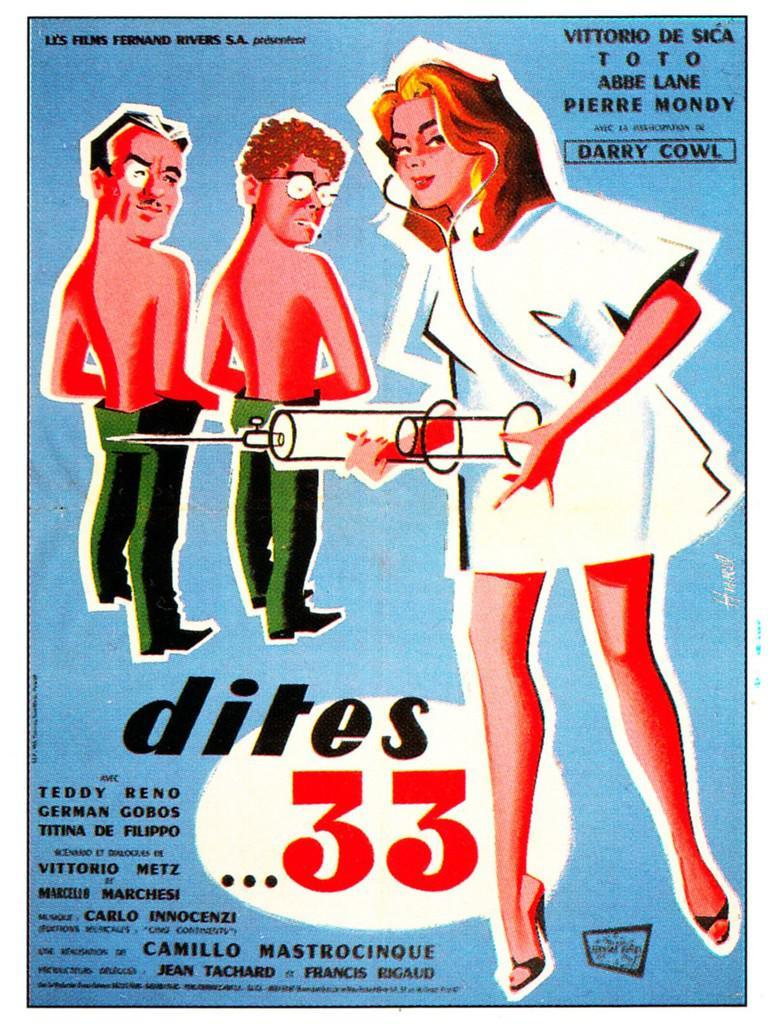 Dites... 33 de Camillo Mastrocinque (1958) - UniFrance