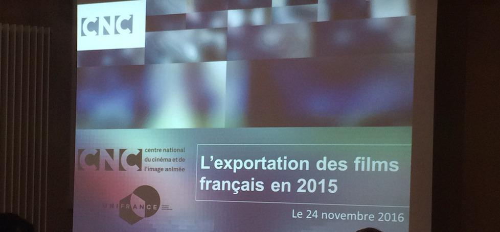 2015, année record pour l'exportation des films français dans le monde