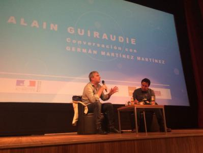 Alain Guiraudie gives a masterclass at FICUNAM in Mexico