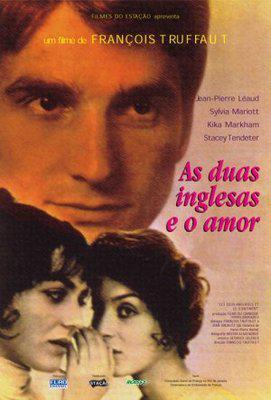 Las Dos Inglesas y el amor - Poster Brésil
