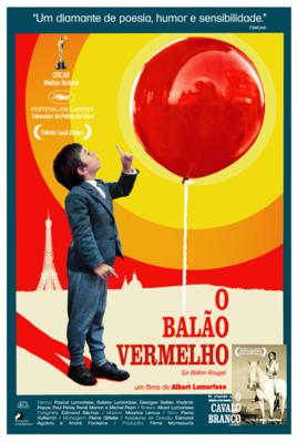 Le Ballon rouge - Poster - Brésil
