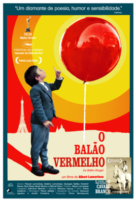 The Red Balloon - Poster - Brésil