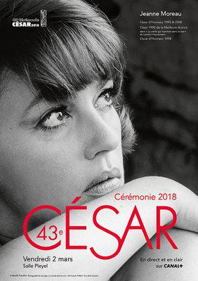 Cesar Awards - French film industry awards - 2018