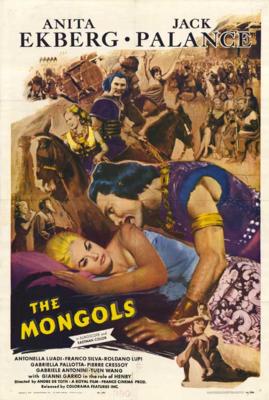 Mongols (Les) - Poster - USA