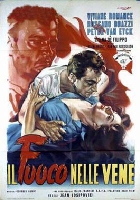Flesh and Desire - Poster Italie