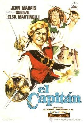 Le Capitan - Affiche espagnole
