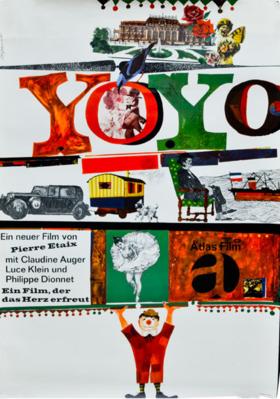 Yo Yo - Poster Allemagne
