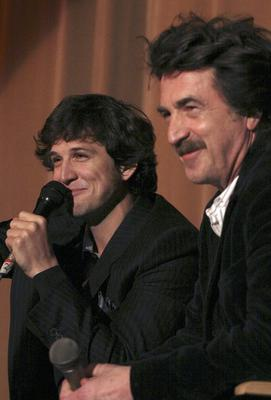 2 French films hit the British Top 10 - Guillaume Canet et François Cluzet au Rendez-vous with french cinema 2007